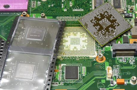 HWServis cz - Výměny GPU obvodů na MXM grafických kartách a